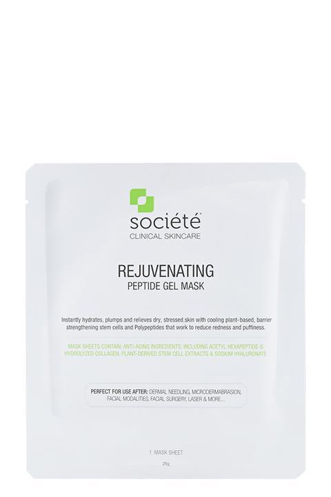 Free Societe Rejuvenating Peptide Gel Mask - 1 Sheet Mask